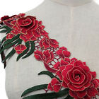 Floral Pattern Ribbon Embroidered Lace Sew Decor Wedding Embroidery Trim Diy