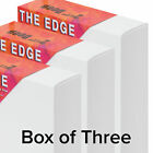 The Edge All Media Cotton Deluxe Stretched Canvas 1.5 Or 2.5 Deep Boxes Of 3