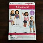 New Simplicity American Girl Doll 18 Inches Sewing Pattern