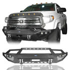 Front Rear Steel Bumper W Led Spot Light D-ring For Toyota Tundra 2014-2020
