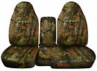 1991-2012 Ford Ranger 6040 Camouflage Camo Seat Covers Choose Color