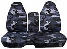 1991-2012 Ford Ranger 6040 Camouflage Camo Seat Covers Choose Color Tdv