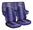 Animal Print Car Seat Covers For Any Cartruckvansuvjeep Full Set Front Rear