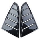 1pair Quarter Side Window Louvers Scoop Cover Vent Fit For Ford Mustang 2015-17