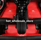 Fit Ford Mustang 2011-2020 Front Rear Liner Waterproof Mat Car Floor Mats