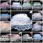 Ruffled Lace With Ribbon 134 Inch Color Price For 1 Yard Select Color