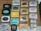 Mixed Multiple Brands - Pigment Dye Ink Stamp Pads Re-inkers - Pre-owned
