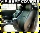2008-2010 Dodge Challenger Clazzio Leather Seat Covers Front Rear