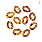 50pcsset Acrylic Leopard Print Chain Links Open Connectors Diy Jewelry Findinkh