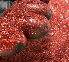 Bright Red Holographic Micro Mini .002 Hex Metal Flake Painting Epoxy