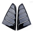 2pcs Side Car Window Louver Vents Cover 14 Quarter Fit For Ford Mustang 2015-17