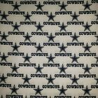 Nfl Cotton Fabric By The 14 Yard Steelers Raiders Dallas Eagles 44w For Mask