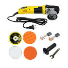 6 Dual Action Car Polisher Orbital Polishing Machine Buffer Sander 7 Pad Kit