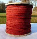 All Colors Suede Leather 18 Lace Cord 25 Yd Craft Blue Red Brown You Choose