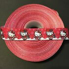 1 Hello Kitty Christmas Grosgrain Ribbon By The Yard Usa Seller