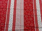 Red And White Quilting Fabric Fun Print Fat Quarters By The Yard 100 Cotton