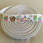 78 Party Animals Birthday Grosgrain Ribbon By The Yard Usa Seller