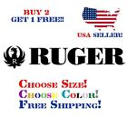 Ruger Decal Sticker Free Shipping Buy 2 Get 1 Free