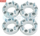 4 6x5.5 Wheel Spacers Adapters For Chevy Silverado 1500 Suburban Gmc Trucks