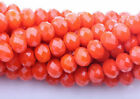 Wholesale Rondelle Faceted Crystal Glass Loose Spacer Beads 46810mm Findings