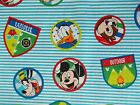 Mickey Mouse Fabric Chip And Dale Fun With Friends Quilting Sewing Fq Bthy Bty
