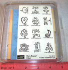 Baby Birthday Rubber Stamp Sets Frames Friends Borders Family U Pick Stampin Up