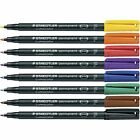 Staedtler Lumocolor Waterproof Permanent Markers For Cd Dvd Pen 318 313