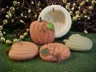 Pumpkin With Leaf Tart 1 Cavity Silicone Mold 1971