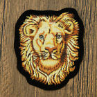 Diy Iron On Patches Embroidered Badge Applique Fabric Craft Tiger Lion Cat Sew