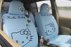 Universal Hello Kitty 10 Pcs Car Seat Covers Front Rear Cover Accessory Sets