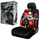 New Suicide Squad Harley Quinn Single Front Low Back Car Truck Seat Cover