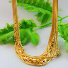 510x Goldsilver Snake Chain Necklace With Clasp Jewelry Making Supplies Craft