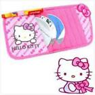 Car Accessories Kitty Cat Designs Pink Cute Interior Steering Wheel Seat Cover