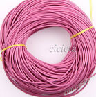 5m 1.52mm Round Rope Leather String Cord For Necklace Bracelet Making Supplies