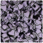 Beadtin Halloween Themed 24mm Witch Pony Beads 24pcs - Style Choice