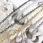 New 5colors 5100meters Iron Open Link Metal Diy Jewelry Making Necklace Chain