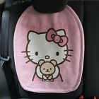 Super Cute Pink Linen Hello Kitty Car Seat Cover