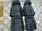 1993.5-1996 Toyota Supra Mk4 Mkiv Replacement Leather Seat Covers Black