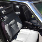 1979-1983 Datsun 280zx Replacement Leather Grey Black Seat Cover