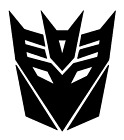 Decepticon Decal Transformers Jdm Funny Decal For Car Windows Outdoors Etc.