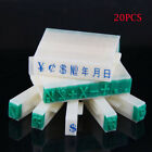 1 Set English Alphabet Letters Numbers Rubber Stamp Free Combination Diy Crafts