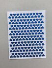 176 Heart Planner Holographic Stickers Scrapbooking Card Making