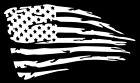 Distressed American Flag Decal Sticker Vinyl Jdm Decal For Car Truck Jeep