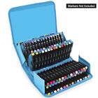 120 Slots Marker Pen Storage Case Carrying Bag Holder Organizer For Touch Copic