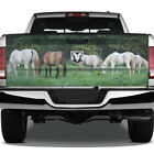 Horses Horse Scene Grass Graphic Rear Tailgate Graphic Decal Truck Pickup Wrap