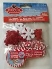 Rudolph Red Nosed Reindeer Foam Stickers Scented Glitter Bumble Christmas Cookie