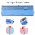 A4 A5 Precision Rotary Guillotine Paper Photo Trimmer Cutter Ruler Portable New