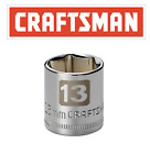 Craftsman Easy Read Socket 14 Drive Shallow Or Deep Metric Or Inch Choose Size