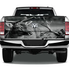 Deer Hunting Hunter Gray Scale Graphic Wrap Tailgate Graphic Decal Truck Pickup