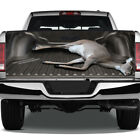 Deer Doe Hunter Hunting Graphic Rear Tailgate Graphic Decal Truck Pickup Wrap